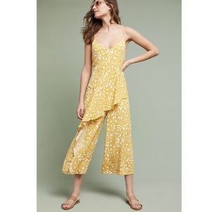 c527e5234b Anthropologie Pants - Anthropologie Maeve Yellow Day Trip Jumpsuit 12